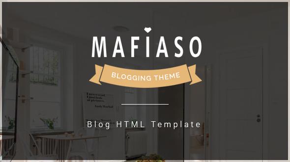 Download Mafiaso - Blog HTML Template
