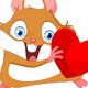 Hamster Valentine