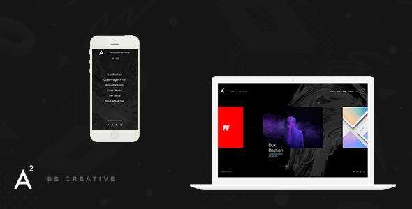 A2 - Creative WordPress Theme