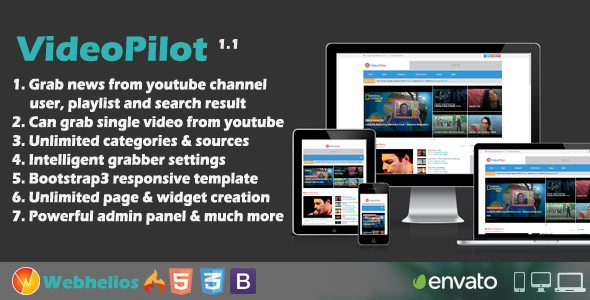 Download Videopilot - Autopilot Youtube Video Script nulled download