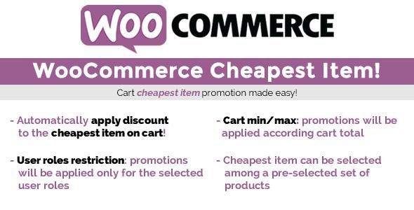 WooCommerce Cheapest Item!