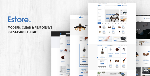 Download Estore - Responsive Opencart Theme