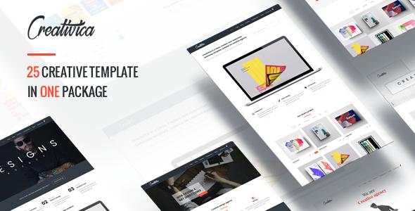 Creativica - Multiple Creative HTML5 Template