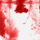 Red Watercolor Background. Blood