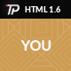 You - Personal HTML Template