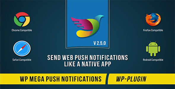 WP Mega Push Notifications - CodeCanyon Item for Sale