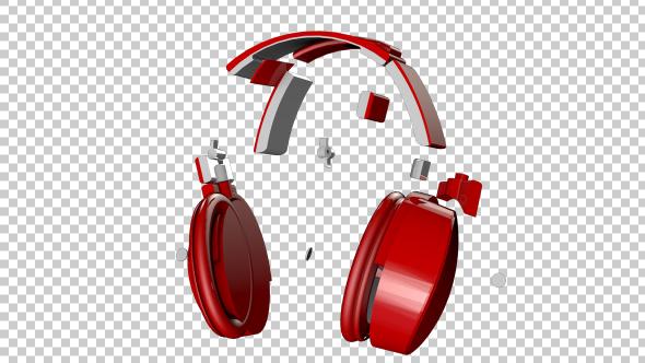 VideoHive Transforming Headphone 19334075