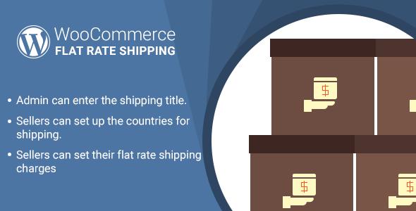 WooCommerce Marketplace Flat Price Shipping Plugin (WooCommerce)