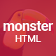 Monster Creative HTML Template