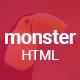 Monster Creative HTML Template