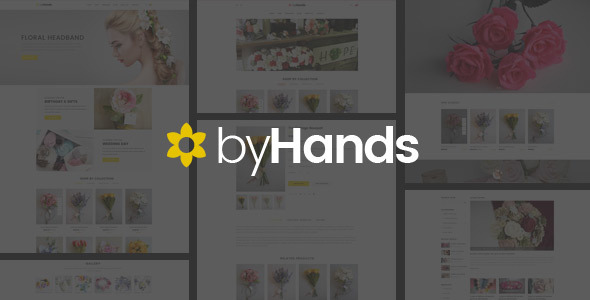 Download ByHands - Flower Store HTML Template