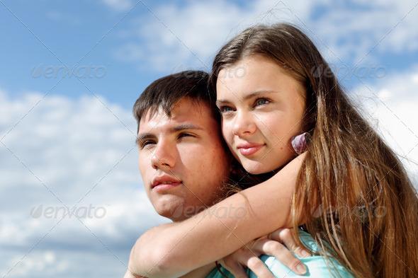 love hug - Stock Photo - Images