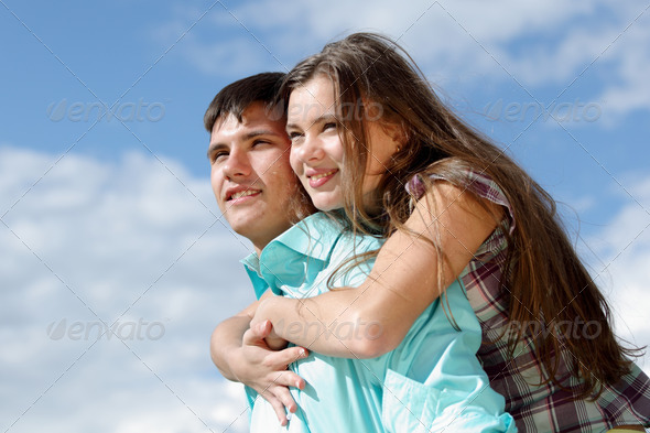 love hug - Stock Photo - Images