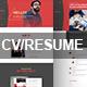 Modern CV / Resume HTML5 Template