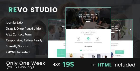 Download Revo Studio - Multipurpose Joomla Template