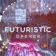 Futuristic Cinematic Parallax Opener | Slideshow