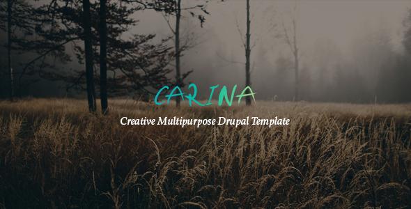 Download Carina - Creative Multipurpose Drupal 8 Template