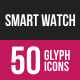 Smart Watch Glyph Inverted Icons