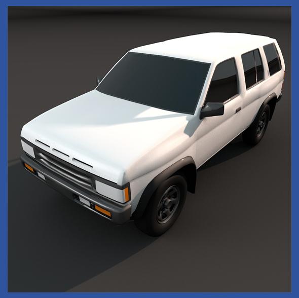 Nissan Pathfinder 94 - 3DOcean Item for Sale