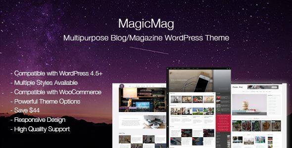 MagicMag - Multipurpose Blog/Magazine WordPress Theme