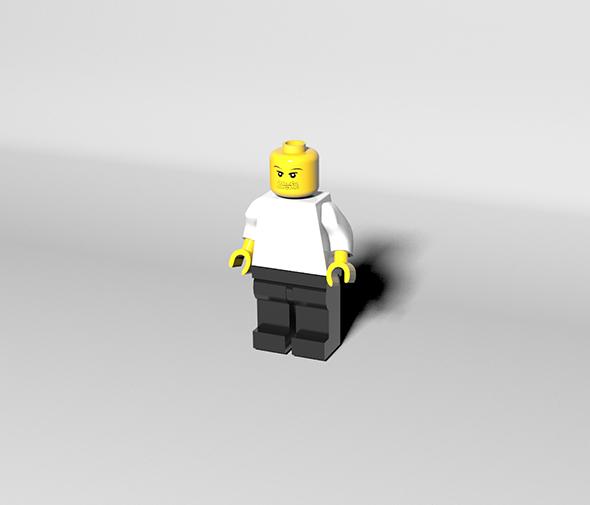 Lego man - 3DOcean Item for Sale
