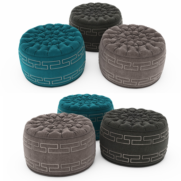3DOcean Pouf collection 11 19338768