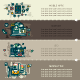 Set Twenty of Internet Technology Banners