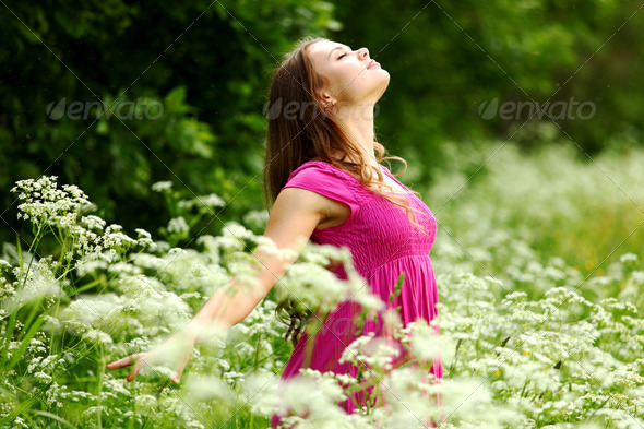 natural freedom - Stock Photo - Images