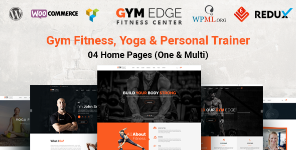 GymEdge - Gym Fitness WordPress Theme