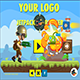 2 Jetpack Runner Buildbox Game Templates -  both with 100 Levels - Admob - Chartboost - IAP