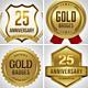 Gold Badges / Logo Set