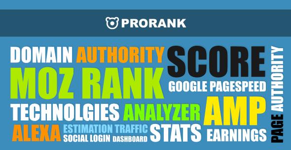 ProRank - Analyzer stats website