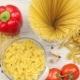Pasta Products, Fresh Meat and Vegetables