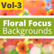 Floral Focus Animated Backgrounds Vol -3
