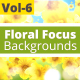 Floral Focus Animated Background Vol -6