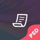 Mr. & Ms. Resume PSD Template