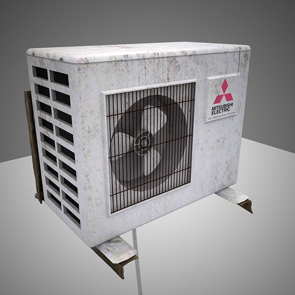 AirConditioning Mitsubishi - 3DOcean Item for Sale