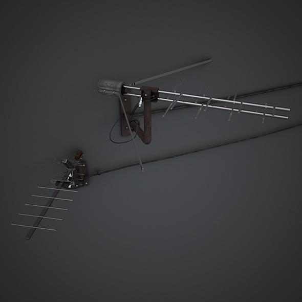 3DOcean Antenna 19340950