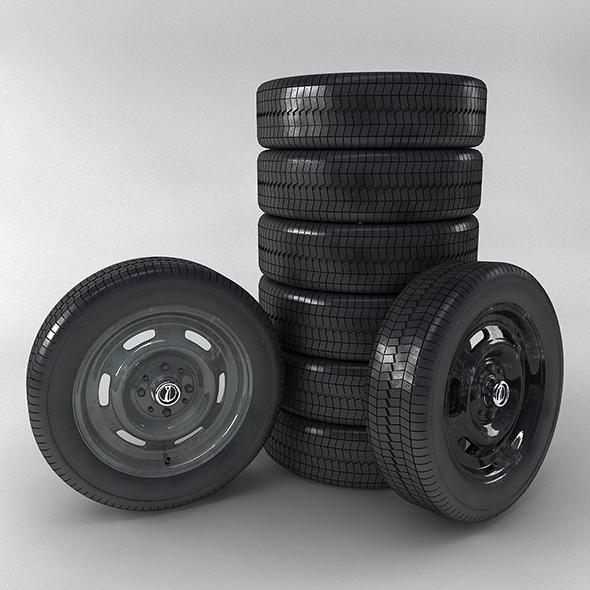 Wheel Lada - 3DOcean Item for Sale