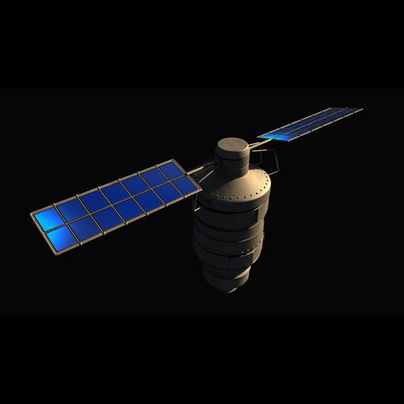 SpaceSatellite - 3DOcean Item for Sale