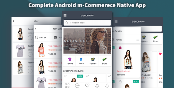 Complete Android Shopping Kit – Shopzen (Templates) Download