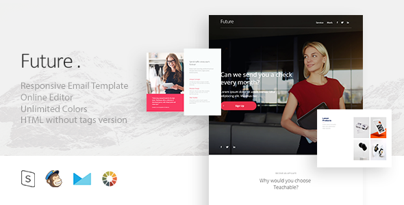 Future – Responsive E-mail + StampReady Builder (E-mail Templates)