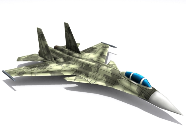Su-37 Terminator - 3DOcean Item for Sale
