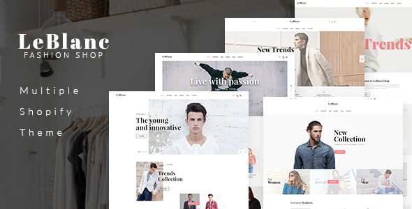 Ap Leblanc Drag And Drop Shopify Theme