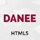 DANEE – Onepage HTML5 Template (Creative)