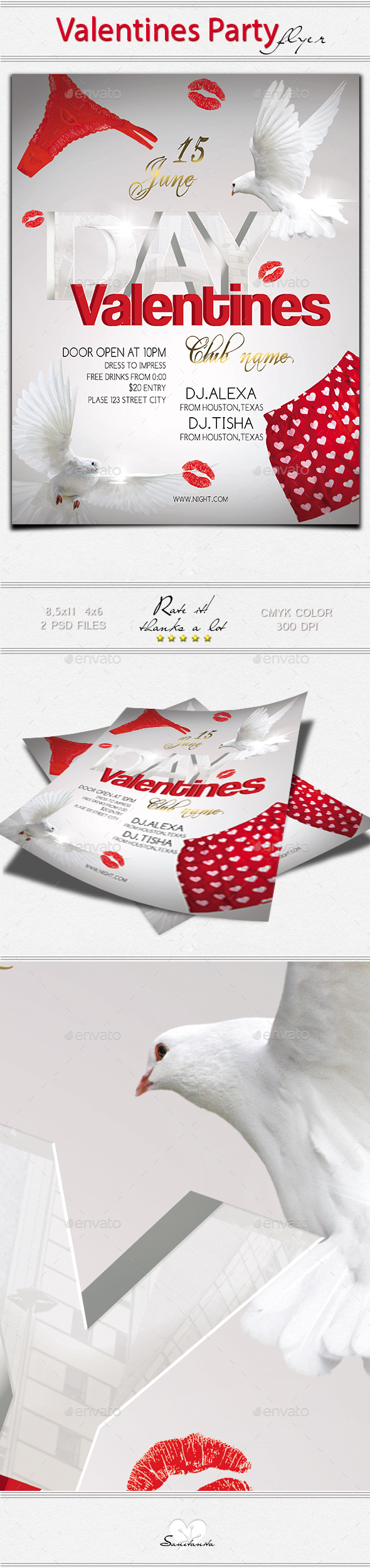 Valentines Day Flyer NEW