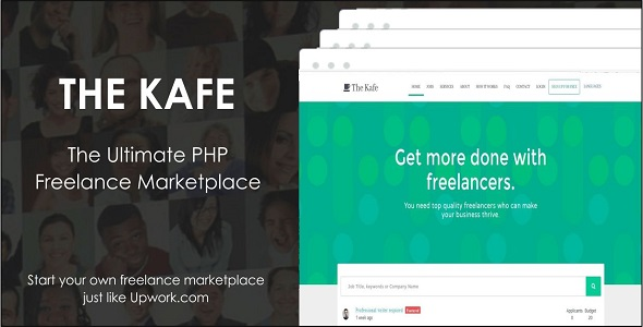 Download The Kafe - Ultimate Freelance Marketplace nulled download
