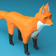 Fox Low Poly