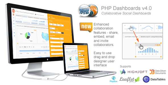Download PHP Dashboards v4.0 (Collaborative Social Dashboards)