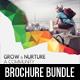 3 Corporate Business Square 3-Fold Brochure Bundle V2
